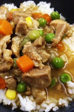 Steamed Rice de Visayas