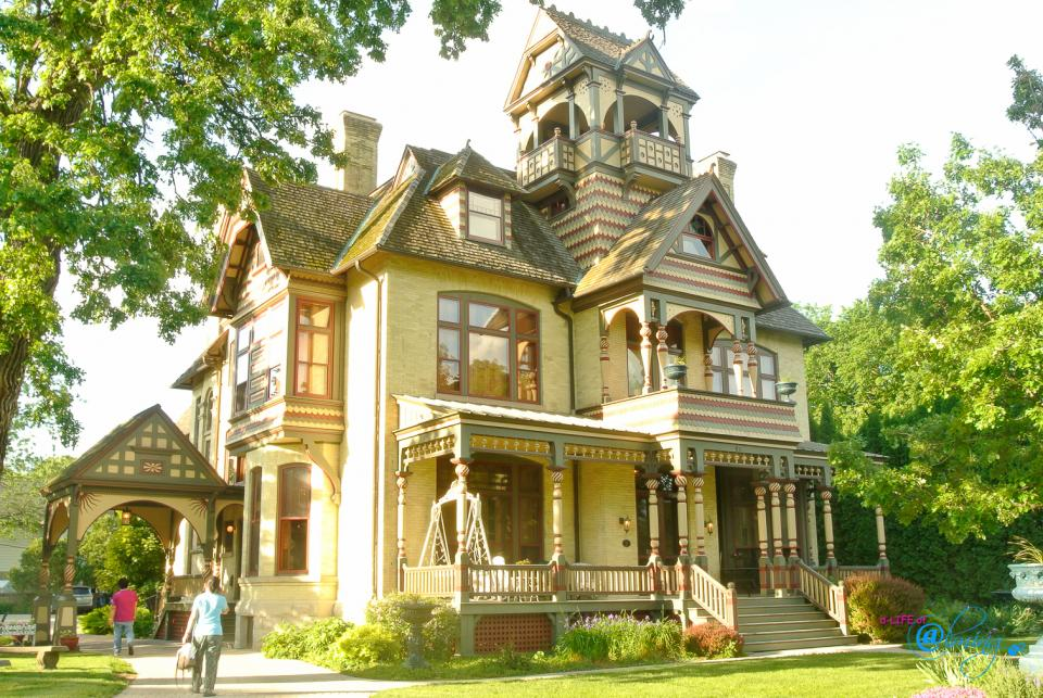 The Weekend Home: Allyn Mansion